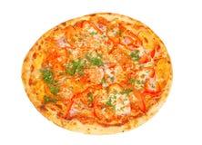 τριζάτη πίτσα πιπεριών Στοκ εικόνα με δικαίωμα ελεύθερης χρήσης