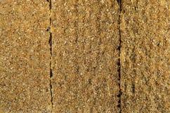 Τριζάτη σύσταση ψωμιού Στοκ Φωτογραφίες