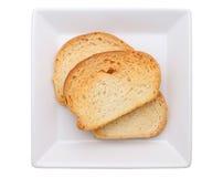 Τριζάτο βουτύρου ψωμί σκόρδου Στοκ Εικόνα