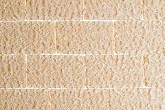 Τριζάτο εύγευστο σχεδιασμένο τούβλα υπόβαθρο ψωμιών Στοκ φωτογραφία με δικαίωμα ελεύθερης χρήσης