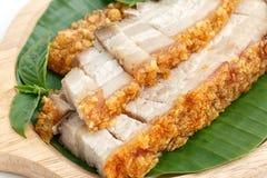 Τριζάτο ψημένο χοιρινό κρέας Στοκ Εικόνες