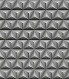 Τριμερής γκρίζα άνευ ραφής σύσταση πυραμίδων ελεύθερη απεικόνιση δικαιώματος