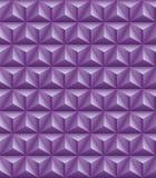 Τριμερής ιώδης άνευ ραφής σύσταση πυραμίδων διανυσματική απεικόνιση