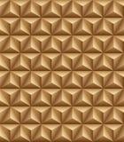 Τριμερής καφετιά άνευ ραφής σύσταση πυραμίδων ελεύθερη απεικόνιση δικαιώματος