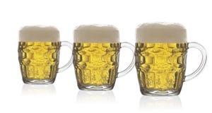 Τριπλή μπύρα Στοκ εικόνες με δικαίωμα ελεύθερης χρήσης