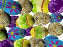 τρισδιάστατα αυγά Πάσχας Στοκ φωτογραφία με δικαίωμα ελεύθερης χρήσης