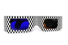 τρισδιάστατα γυαλιά Στοκ φωτογραφίες με δικαίωμα ελεύθερης χρήσης