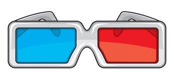 τρισδιάστατα γυαλιά Στοκ Εικόνες