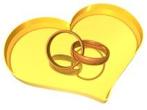 τρισδιάστατα δαχτυλίδι&alpha Στοκ Φωτογραφία