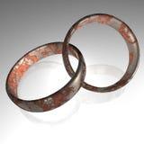 τρισδιάστατα δαχτυλίδι&alpha Στοκ φωτογραφία με δικαίωμα ελεύθερης χρήσης