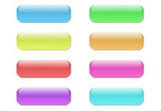 τρισδιάστατα κουμπιά Στοκ εικόνες με δικαίωμα ελεύθερης χρήσης