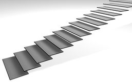 τρισδιάστατα σκαλοπάτια Στοκ εικόνα με δικαίωμα ελεύθερης χρήσης
