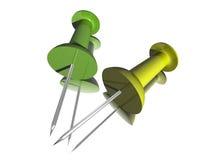 τρισδιάστατα pushpins Στοκ φωτογραφία με δικαίωμα ελεύθερης χρήσης