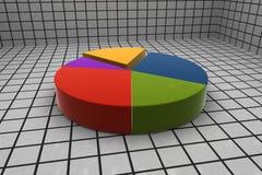 τρισδιάστατες στατιστι&ka Στοκ φωτογραφία με δικαίωμα ελεύθερης χρήσης