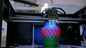 τρισδιάστατη έννοια τεχνολογίας εκτύπωσης φιλμ μικρού μήκους