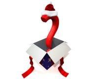 τρισδιάστατη έννοια Χριστουγέννων παρούσα Στοκ Εικόνες