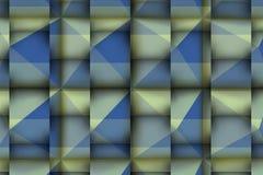 τρισδιάστατη ανακούφιση με τις μπλε μαλακές σκιές Στοκ εικόνες με δικαίωμα ελεύθερης χρήσης