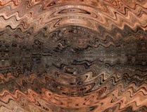 τρισδιάστατη απεικόνιση Αφηρημένη εικόνα μιας ξύλινης επιφάνειας ενός δέντρου στοκ φωτογραφίες