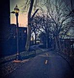 τρισδιάστατη απεικόνιση που δίνεται το δρόμο μπαγαπόντικο στοκ φωτογραφίες