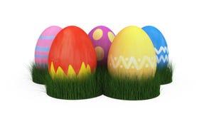 τρισδιάστατη απεικόνιση του αυγού Πάσχας απεικόνιση αποθεμάτων