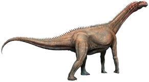 Τρισδιάστατη απεικόνιση Mierasaurus Στοκ Εικόνες