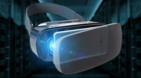 Τρισδιάστατη απόδοση απεικόνισης τεχνολογίας γυαλιών εικονικής πραγματικότητας Στοκ Εικόνες