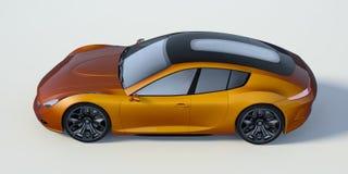 τρισδιάστατη απόδοση - γενικό αυτοκίνητο έννοιας Στοκ Εικόνες