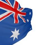 τρισδιάστατη αυστραλιανή σημαία Στοκ Φωτογραφίες