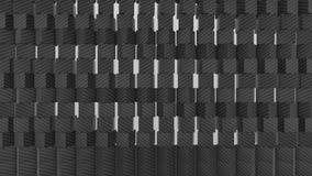 τρισδιάστατη αφηρημένη ανασκόπηση γεωμετρική απόθεμα βίντεο