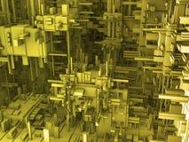τρισδιάστατη αφηρημένη ανα&si Στοκ εικόνα με δικαίωμα ελεύθερης χρήσης