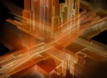 τρισδιάστατη αφηρημένη απε& Στοκ φωτογραφία με δικαίωμα ελεύθερης χρήσης