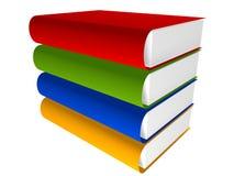 τρισδιάστατη βιβλιοθήκη βιβλίων Στοκ φωτογραφία με δικαίωμα ελεύθερης χρήσης