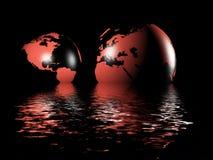 τρισδιάστατη γη απεικόνιση αποθεμάτων