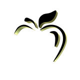 τρισδιάστατη εικόνα μήλων Ελεύθερη απεικόνιση δικαιώματος
