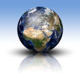 τρισδιάστατη εικόνα του πλανήτη Γη Στοκ Εικόνα