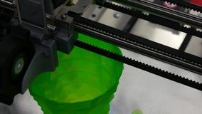 τρισδιάστατη εκτύπωση - τρισδιάστατος εργασιακός χώρος απόθεμα βίντεο