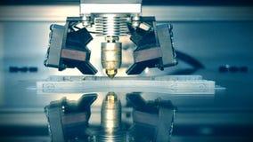τρισδιάστατη εργασία εκτυπωτών Λιωμένη διαμόρφωση απόθεσης, FDM τρισδιάστατη εκτύπωση εκτυπωτών απόθεμα βίντεο