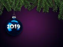 τρισδιάστατη κάρτα Χριστουγέννων απόδοσης στοκ φωτογραφίες με δικαίωμα ελεύθερης χρήσης