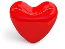 τρισδιάστατη καρδιά Στοκ εικόνες με δικαίωμα ελεύθερης χρήσης