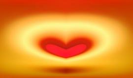 τρισδιάστατη καρδιά Στοκ Φωτογραφία