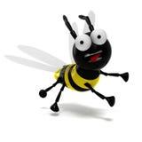 τρισδιάστατη μέλισσα Απεικόνιση αποθεμάτων