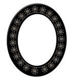 τρισδιάστατη μαύρη ωοειδή& Στοκ φωτογραφίες με δικαίωμα ελεύθερης χρήσης