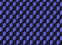 τρισδιάστατη μπλε σύσταση με τις σκιές και τους κύβους Στοκ εικόνες με δικαίωμα ελεύθερης χρήσης
