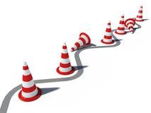 τρισδιάστατη οδική κυκλ& Διανυσματική απεικόνιση