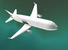 τρισδιάστατη πτήση Στοκ εικόνες με δικαίωμα ελεύθερης χρήσης