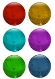 τρισδιάστατη σφαίρα γυα&lambda απεικόνιση αποθεμάτων