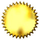 τρισδιάστατη χρυσή σφραγίδα απεικόνιση αποθεμάτων