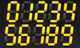 Τρισδιάστατοι αριθμοί απεικόνιση αποθεμάτων