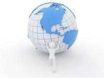 τρισδιάστατοι ρόλοι γήιν&omeg ελεύθερη απεικόνιση δικαιώματος