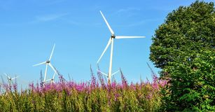 τρισδιάστατος απομονωμένος απεικόνιση αέρας ισχύος Στοκ φωτογραφία με δικαίωμα ελεύθερης χρήσης